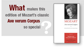 "What makes this edition of Mozart's classic ""Ave verum Corpus"" so special?"